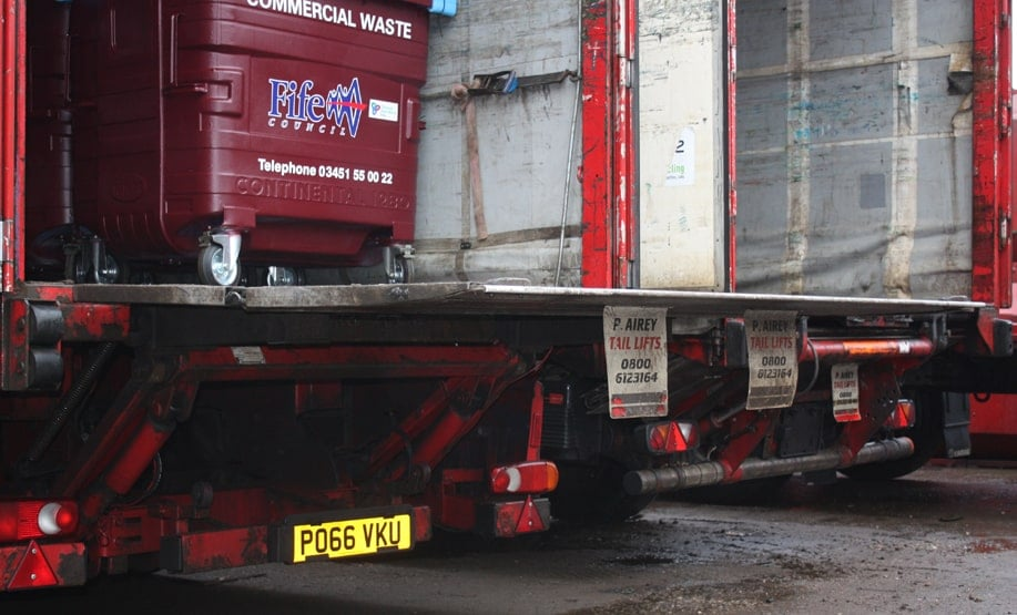Waste Truck Tail Lifts